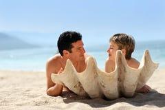 Free Couple On The Beach Royalty Free Stock Photos - 405138