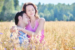 Couple outdoor Royalty Free Stock Image