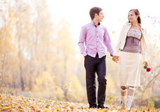 Couple Outdoor Stock Image