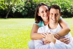 Couple outdoors Stock Photos