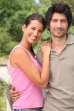 Couple outdoors in the summertime Stock Image