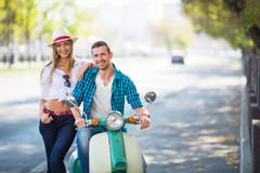 Couple outdoors Royalty Free Stock Images