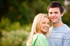 Couple Outside Stock Images