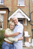 Couple Outside There House Stock Photography