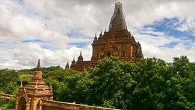 Couple pagodas Buddhism stock photography