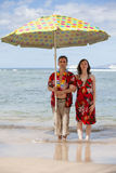Couple in Paradise Stock Images
