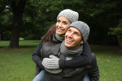 couple park Στοκ Φωτογραφίες