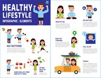 Health medical  vector infographic element design illustration stock illustration