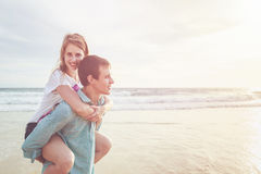 Couple people or tourist from europe with happy and relax time o Stock Images