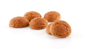 Couple of of pepernoten (ginger nuts) Royalty Free Stock Image