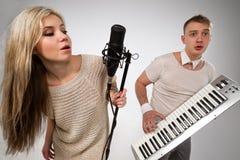 Singers Stock Image