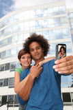 Couple picture portrait Royalty Free Stock Photo