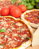 Couple of Pizzas Stock Image