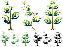 Couple plant stock illustration