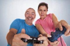Couple play Royalty Free Stock Photos