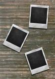 A couple of polaroids photo frames Royalty Free Stock Image