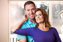 Couple portrait Royalty Free Stock Photos