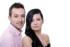 Couple portrait Stock Image