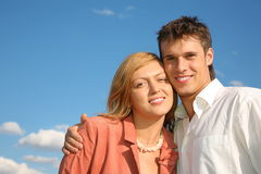 Couple portrait Royalty Free Stock Image