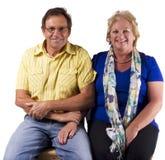 Couple portrait Stock Images