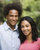 Couple portrait. Royalty Free Stock Images