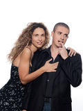 Couple Portrait Seduction Stock Images