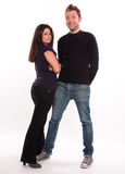 Couple posing Stock Image