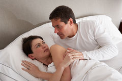 Couple With Problems Having Disagreement Royalty Free Stock Photo