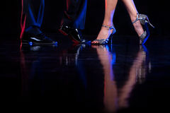Dancing feet. Stock Image