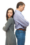 Сouple quarreling Royalty Free Stock Photography