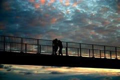 Couple_4 que da un paseo Imágenes de archivo libres de regalías