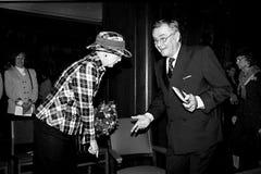 COUPLE_QUEEN REAL DANÉS MARGRETHE_PRINCE HENRIK fotos de archivo libres de regalías