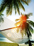 Couple Relaxation Vacation Summer Beach Holiday Concept Royalty Free Stock Photos