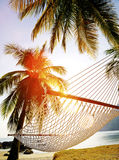 Couple Relaxation Vacation Summer Beach Holiday Concept Royalty Free Stock Photography