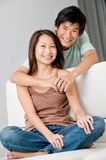 Couple Relaxing Stock Photo