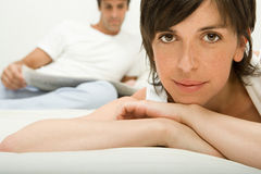 Couple relaxing Royalty Free Stock Image