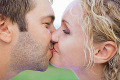 Couple in the rest stock image