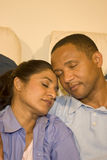 Couple Resting Royalty Free Stock Photos