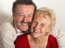 Couple in retirement Stock Photography