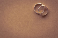 Couple ring for love Royalty Free Stock Photography