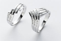 Couple rings Royalty Free Stock Photography