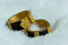 Couple Rings Stock Images