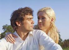 couple romantic Стоковая Фотография