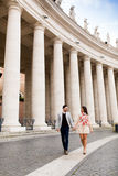 Couple in Rome Stock Images