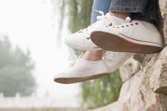 Couple's Feet Stock Photo