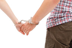 Couple's forced relation Stock Photography