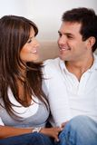 Couple's portrait Royalty Free Stock Photography