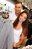 Couple in s sport outlet Stock Photos