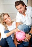 Couple savings Royalty Free Stock Photo