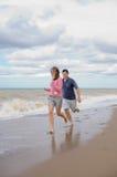 Couple at the sea Stock Photo